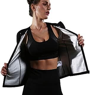 HuntDream Traje de Sauna para Mujer Hot Sweat Jacket Pé