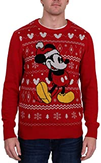 Disney Men's Mickey Rd Sweater