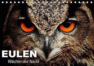 Eulen. Wächter der Nacht (Tischkalender 2019 DIN A5 quer): Die mystischen Waldbewohner mit großer Fan-Gemeinde (Geburtstagskalender, 14 Seiten )