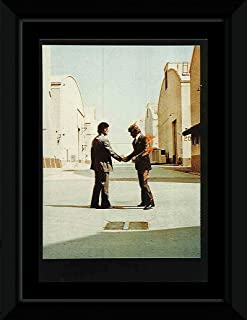 Stick It On Your Wall Pink Floyd - Wish You were Here Framed Mini Poster - 14.7x10.2cm