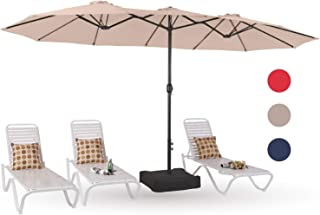 Best rectangular tilt patio umbrella Reviews