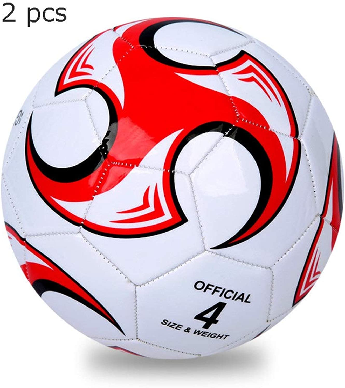 Zs-SportGoods Fitnessgerte Zusammengesetzte Fuball-Gren 3, 4, 5 in den mehrfachen Farben 2 PC-Mdchen-Jungen-Fuball für Kinderweihnachtsgeschenk-Fuball Sporttraining