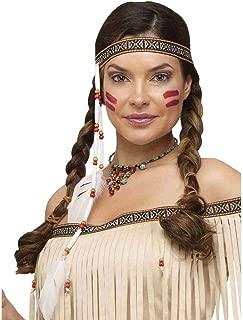 Bead and Feather Native Headband