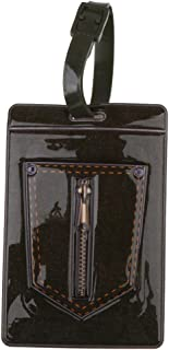 D DOLITY Personalized Luggage Tags Suitcase Label Bag Card