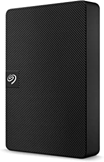 Seagate Expansion Portable 4TB External Hard Drive HDD - 2.5 Inch USB 3.0, for Mac and PC with Rescue Data Recovery Servic...