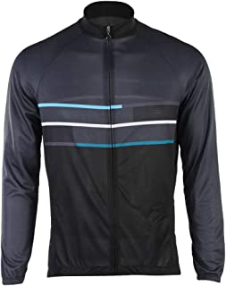 Camisetas de Ciclismo, Hombres Jersey Pantalones Largos Mangas Largas de Ciclismo Ropa para Deportes al Aire Libre Ciclo Bicicleta