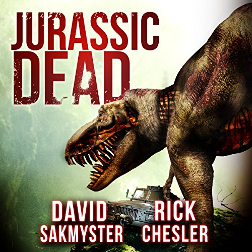 Jurassic Dead audiobook cover art