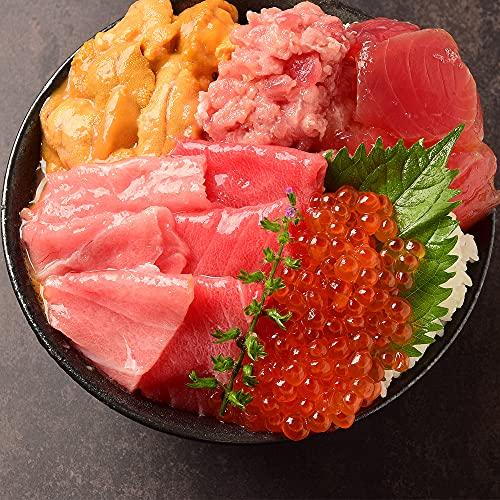 醤油漬いくら 250g! 海鮮丼 6色 海鮮 セット+沢わさび1本おまけ