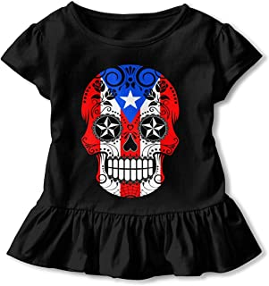 MONIKAL Unisex Infant Short Sleeve T-Shirt American Flag Toddler Kids Organic Cotton Graphic Tee Tops