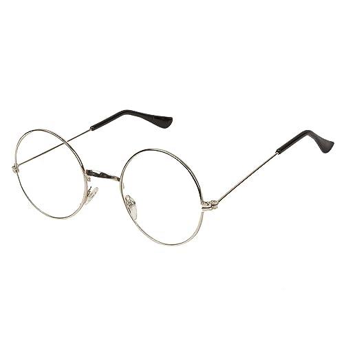 6777dedd304 Arzonai Gandhi Round Shape Silver-Transparent UV Protection Sunglasses