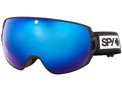 Spy Optic Legacy (Matte Black Hd Plus Rose w/ Dark Blue Spectra Mirror + Hd Plus) Snow Goggles