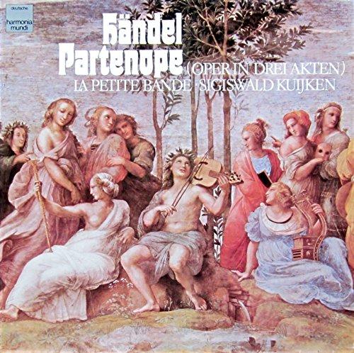 Händel: Partenope (Gesamtaufnahme der Originalfassung in italienischer Sprache) [Vinyl Schallplatte] [4 LP Box-Set]