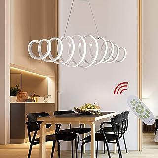 Lampa LED do jadalni, lampa przyciemniana, nowoczesne wzorni
