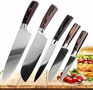 Couteau de cuisine Ensemble de Sharp japonais Santoku Couteaux de cuisine en acier inoxydable Couteau Chef service Set Cou...