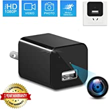 SUSZAVSS Charger Hidden Camera Wireless Video Recorder Nanny Cam USB Wall Adapter HD 1080P Mini Cams Plug for Home Office Security Motion Detection