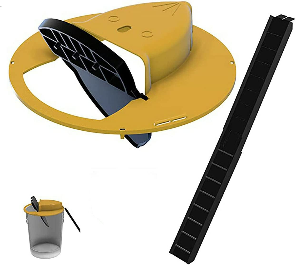 Flip and Slide Bucket Rat Mouse Popular brand in the Free shipping on posting reviews world Lid Trap