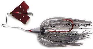 Megastrike Cavitron Buzzbait (3/8-Ounce, Red Blade Ghost Skirt)