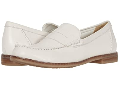 Hush Puppies Wren Loafer PF (Ivory Leather) Women
