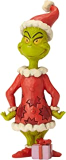 Enesco Dr. Seuss The Grinch by Jim Shore Hands on Hips Figurine, 6.3