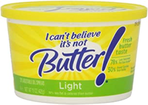I Can't Believe It's Not Butter!, Light Buttery Spread, 15 oz