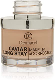 Dermacol long stay make-up and corrector - 1 pale 30 ml 1 oz