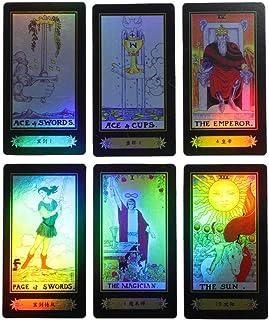 ライダー ウェイト タロットカード カードゲーム ボードゲーム 未来を伝えるゲーム 78pcs 英語説明書付き(#1)