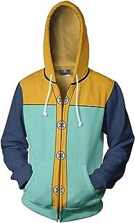 Fairy King Harlequin King Hoodies Cosplay Costume Sweatshirt Jacket Unisex