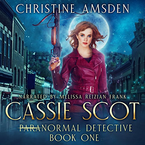 Cassie Scot     ParaNormal Detective              By:                                                                                                                                 Christine Amsden                               Narrated by:                                                                                                                                 Melissa Reizian Frank                      Length: 8 hrs and 27 mins     108 ratings     Overall 4.1