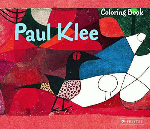 Paul Klee Coloring Book [Idioma Inglés]