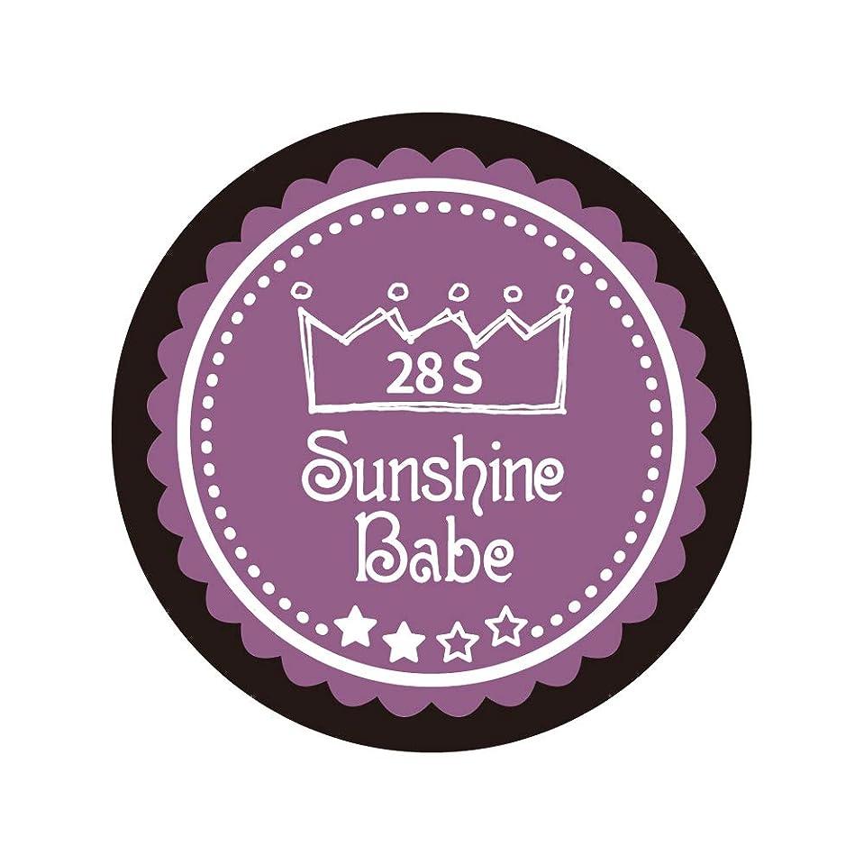 速度狂信者ホイールSunshine Babe コスメティックカラー 28S パンジーパープル 4g UV/LED対応