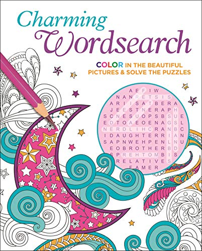 Charming Wordsearch: Color in the Beautiful Pictures & Solve the Puzzles (Color Your Wordsearch, 2)