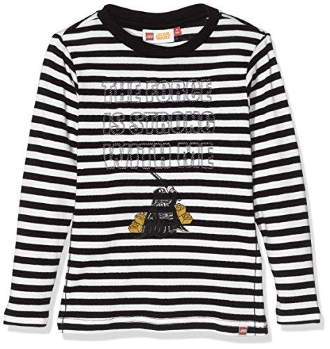 Lego Wear Jungen T-Shirt Lego Boy Star Wars Tony 754, Gr. 116, Schwarz (Black 995)