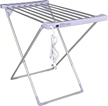 Hiki Ziki Electric Clothes Dryer,Household Aluminum Alloy Folding Clothes Dryer Electric Thermostat Clothes Drying Rack