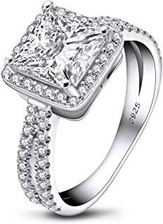 Best simulated diamond engagement rings Reviews