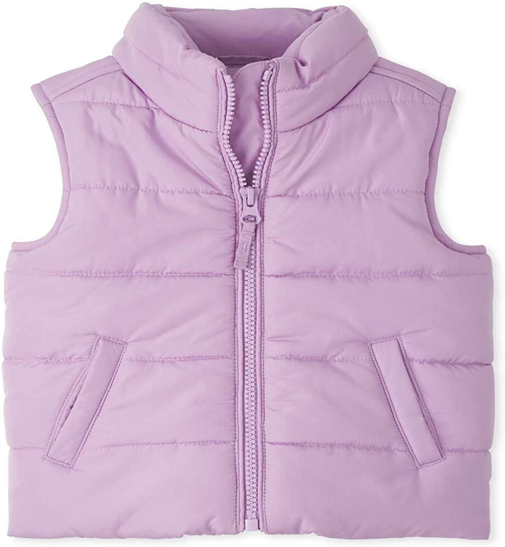 The Childrens Place girls Toddler Puffer Vest