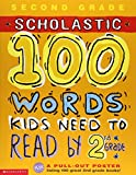Scholastic 100 Words Kids Need to Read by 2nd Grade 英語 アクティビティブック