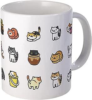 CafePress Neko Atsume Mugs Unique Coffee Mug, Coffee Cup