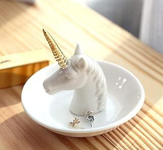 Unicorn Ring Dish Jewelry Holder Unicorn Gift for Women Girls Birthday Christmas Gifts