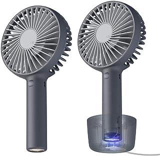 JULABO Durable Ventilateur de Table USB Ordinateur de Bureau Amovible Base Ventilateur Mini dortoir Pratique (Color : 04)