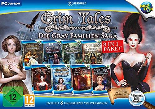 Rondomedia Grim Tales: Die Gray Familien-Saga (8 in 1 Bundle) - [PC]