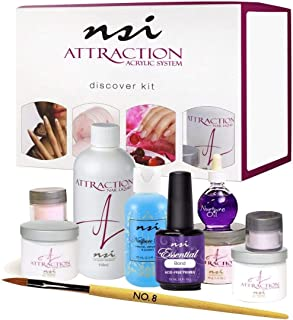 Acrylic ATTRACTION Discover Kit + Nail Brush First Touch #8