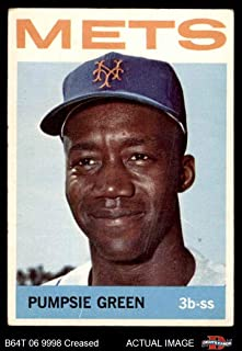 1964 Topps # 442 Pumpsie Green New York Mets (Baseball Card) Dean's Cards 3 - VG Mets