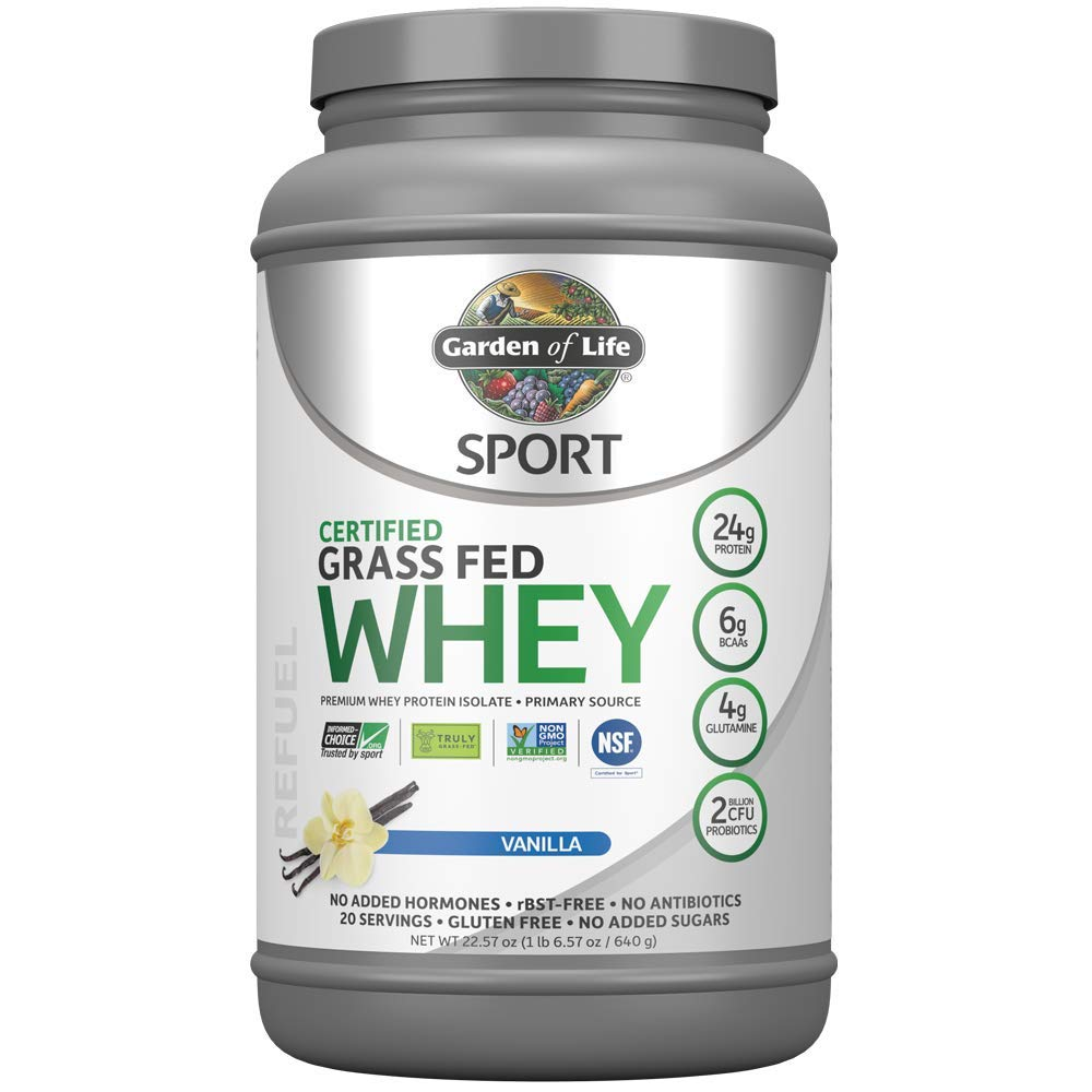 Garden Life Certified Protein Isolate