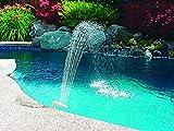 Poolmaster 54507 Swimming Pool and Spa Waterfall Fountain, Medium, Multi
