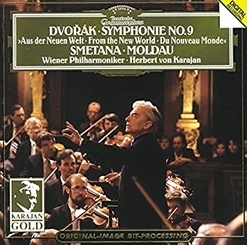 "Dvorák: Symphony No.9 , Op.95, B. 178  ""From the New World"" / Smetana: The Moldau"