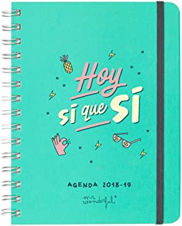 Mr. Wonderful - Agenda rotu 2018-2019 Semana vista - Hoy sí que sí, - [Español]