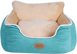🌟 Sherostore 🌟 Faux Fur Small Pet Dogs Cat Bed Puppy Cushion House Pet Soft Warm Kennel Mat Blanket