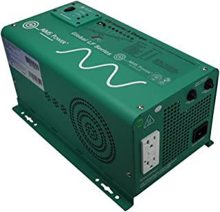 AIMS Power PICOGLF12W12V120AL Green AIMS 1250 Watt 12VDC to 120VAC Power Inverter Charger with Transfer Switch