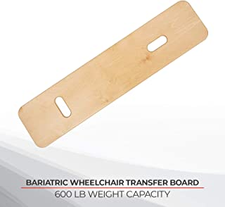 Sammons Preston Bariatric Transfer Board for Wheelchair Users, Sliding Board with Handles, 35