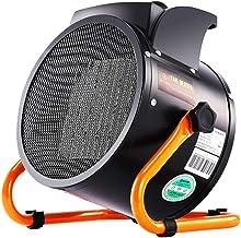 XHMCDZ Ventilador Calor eléctrico Espacio Forzado Calentadores de cerámica pequeños con termostato Ajustable Mini Calentador de Aire portátil 2000W